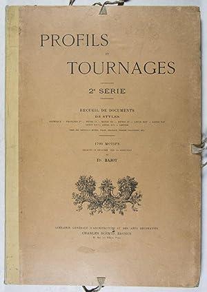 Profils et Tournages, 2ème Série: Recueil de: Bajot, Édouard