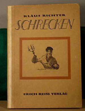 Schrecken. Novellen und Federzeichnungen.: Richter, Klaus.- Erstausgabe.