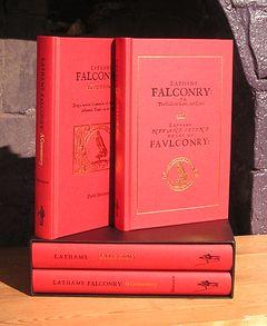 LATHAM'S FALCONRY: A FACSIMILE AND A COMMENTARY: Latham (Symon). Horobin