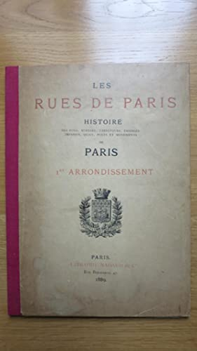 Les rues de Paris. Histoire des rues,: BLOCH (F.) MERKLEIN