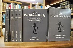 Bild des Verkäufers für Der Kleine Pauly. Lexikon der Antike. zum Verkauf von Göppinger Antiquariat