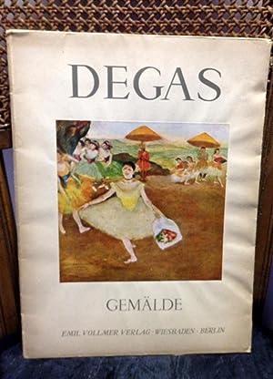 Degas - Gemälde ; eingeleitet von Bruno: Degas, Edgar
