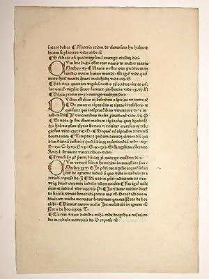De mysterio missae. (GW 00700, H 449).: Albertus Magnus: