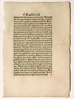 De summo bon. (GWM 15290, H 9283).: Isidorus Hispalensis: