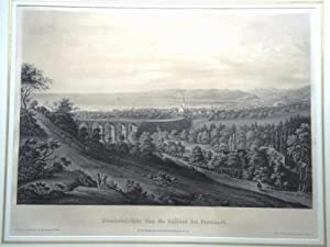 Goldach-Eisenbahnbrücke, Originaltitel:Eisenbahnbücke über die Goldach bei Rorschach,: ISENRING Johann Baptist