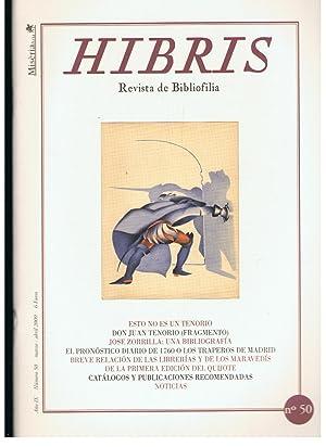 HIBRIS. Revista de Bibliofilia. Año IX, Nº: Grau. Pepe, (director).