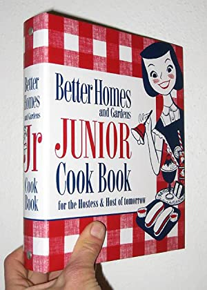 New Junior Cook Book: 1955 Classic Edition: Homes, Better; Gardens