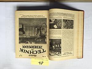 Illustrierte Technik für Jedermann (49 verschiedene Nr. aus 3 Jahren): Müller, Wolfgang, Carl Maass...