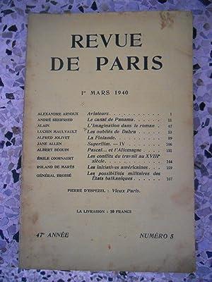 Ecrits de Paris - Revue des questions: Alexandre Arnoux -