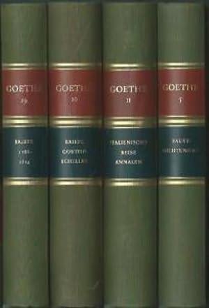 Gedenkausgabe der Werke, Briefe und Gespräche. 28. August 1949. 26 Bände [24 Bände + 2 ...