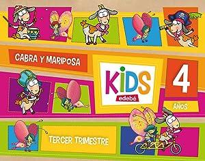 kids 4 años (3º.trimestre) *infantil*: Edebé, Obra Colectiva