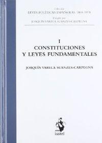 Leyes politicas, 1 constitucion y leyes: Varela, Joaquin