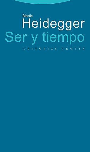 Ser y tiempo (t): Heidegger, Martin