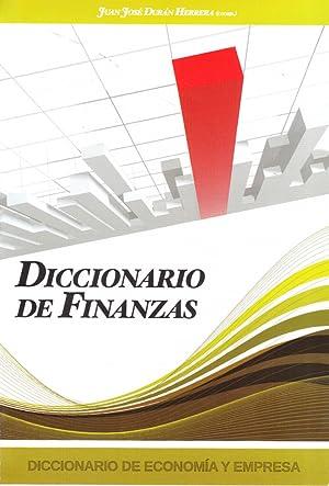 4.diccionario de finanzas: Duran Herrera, Juan Jose