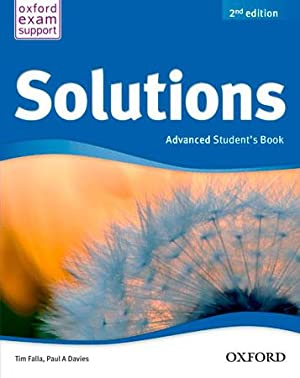 Solutions Advanced Students Book Pack 2ª Edición: Falla, Tim