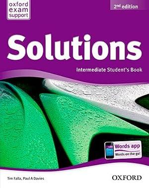 Solutions Intermediate Students Book Pack 2ª Edición: Falla, Tim