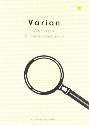 Análisis microeconómico, 3ª ed.: Varian, Hal