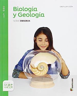 1eso biologia y geologia cast-leon ed15: Aavv