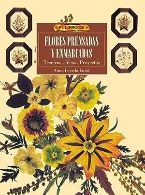 El libro de flores prensadas y enmarcadas: Levada, Anna