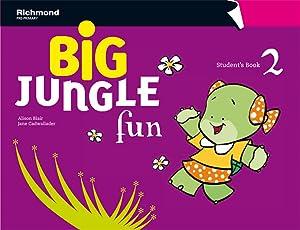 12).*big* jungle fun 2 (4 aÑos).pack st+wb -ingles-: Varios autores