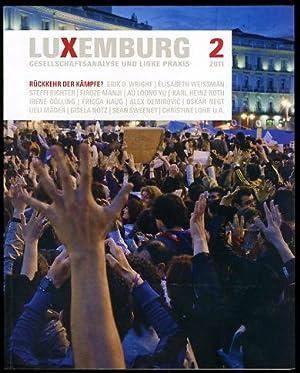 Luxemburg. Gesellschaftsanalyse und linke Praxis 2. 2011.