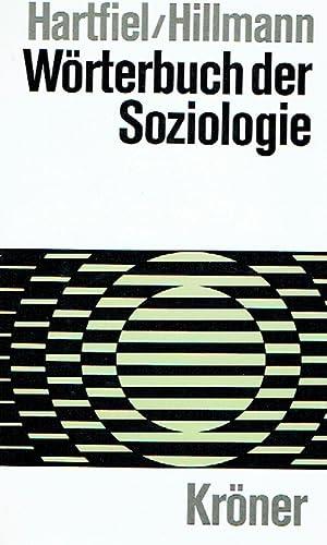 Bild des Verkäufers für Wörterbuch der Soziologie. zum Verkauf von Antiquariat Bernhardt