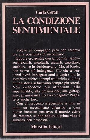 La condizione sentimentale: Carla Cerati
