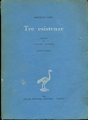 Tre esistenze: Gertrude Stein