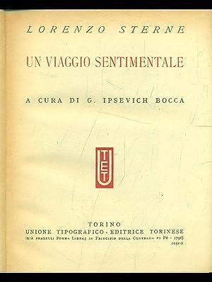 Un viaggio sentimentale: Lorenzo Sterne