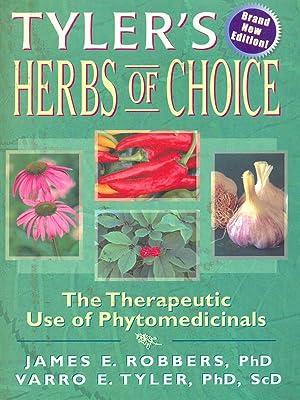 Tyler's Herbs of Choice: James E. Robbers