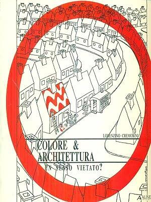 Seller image for Colore e architettura Un senso vietato? for sale by Librodifaccia