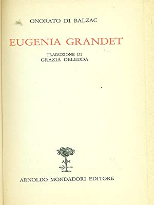 Eugenia Grandet: Balzac