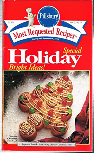PILLSBURY MOST REQUESTED RECIPES, Vol. 2, No. 5, SPECIAL HOLIDAY BRIGHT IDEAS, Holday VIII, Repri...