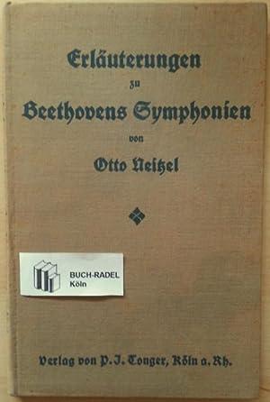 Beethovens Symphonien nach ihrem Stimmungsgehalt erläutert (mit: Neitzel, Otto: