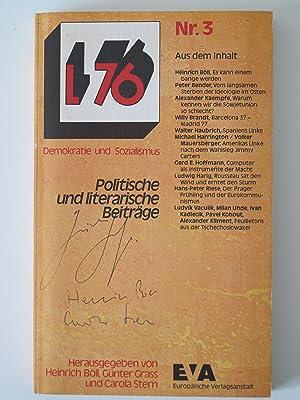 L 76 (ab Nr. 13): L 80.: Böll, Heinrich /Günter