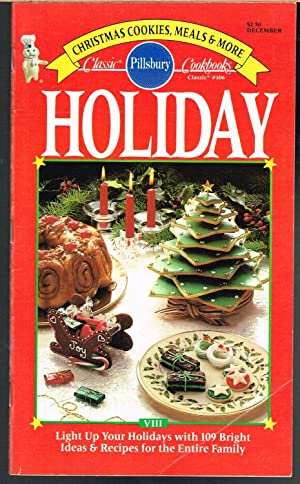 PILLSBURY CLASSIC COOKBOOKS NO. 106, DECEMBER 1989 , HOLIDAY VIII.