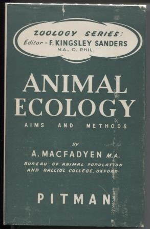 ANIMAL ECOLOGY - AIMS AND METHODS