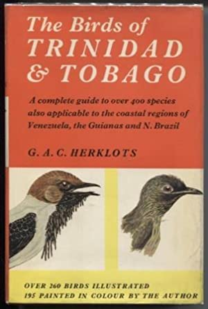 The Birds of Trinidad and Tobago.
