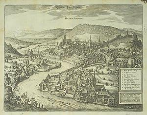 Baden Im Argöw. / Baden Argoiæ.: MERIAN, Matthaus].