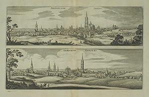 Silvanectum. Senlis. / Lemovicum. Limoges.: MERIAN, Matthaus].