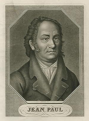 Jean Paul, eigentlich Johann Paul Friedrich Richter (Wunsiedel 21. 03. 1763 - 14. 11. 1825 Bayreuth...