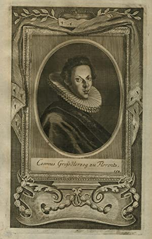Cosimo II. de  Medici (Florenz 12. 05. 1590 - 28. 02. 1621 Florenz). Großherzog von Toskanan seit ...