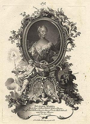 Wolfenbüttel, Schloss Fredensborg 04. 09. 1729 - 10. 10. 1796). Durch Heirat ( 2. Gemahlin von ...