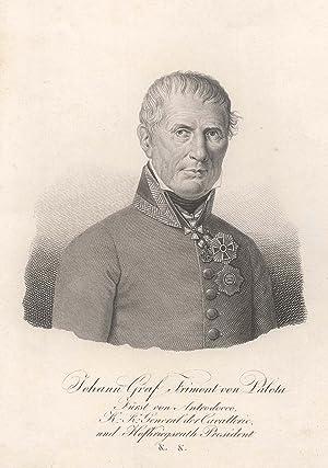 Johann Maria Philipp Freiherr Frimont von Palotta (Finstingen/Frankreich 03. 02. 1759 - 26. 12. ...
