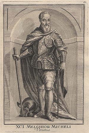 Melchiore Michele ( ?? - 1570) war ein Feldherr von Venedig. 1539 bekam er den Oberbefehl über die ...