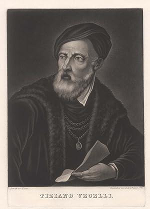 Tizian, eigentlich Tiziano Vecellio (Pieve di Cadore bei Belluno um 1477/90 - 27. 08. Venedig). ...