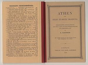 Athen und seine nächste Umgebung. Berichtigter Sonderabdruck aus der 3. Auflage des Reisehandbuchs ...