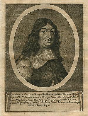 """Cölln an der Spree (Berlin) 16.02.1620 - 29. 04.1688 Potsdam). Regent 1640-1688. Mitglied der """"..."""