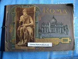 Ricordo di Roma. Centoventi Tavole. Vedute, Pittura,: Scorocchi, Attilio.