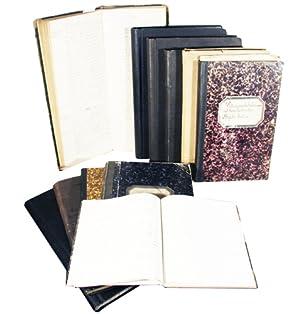 Tagebücher der Familie Baumann aus Wollishofen/Zürich. Handgeschriebene: BAUMANN